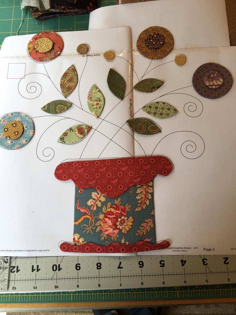 Positioning Applique / Pine Valley Quilts