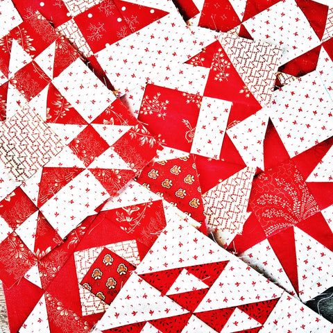 Simply Red Quilt /Pine Valley Quilts