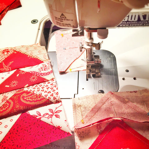 Simply Red Quilt / Pine Valley Quilts
