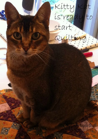 Kitty Kat  Ready to start Quilting | Pine Valley Quilts