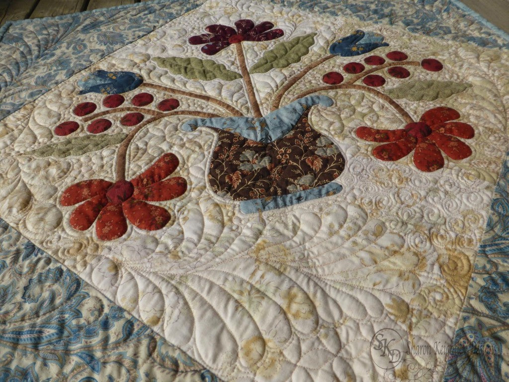 Lilly's Table Mat / Pine Valley Quilts