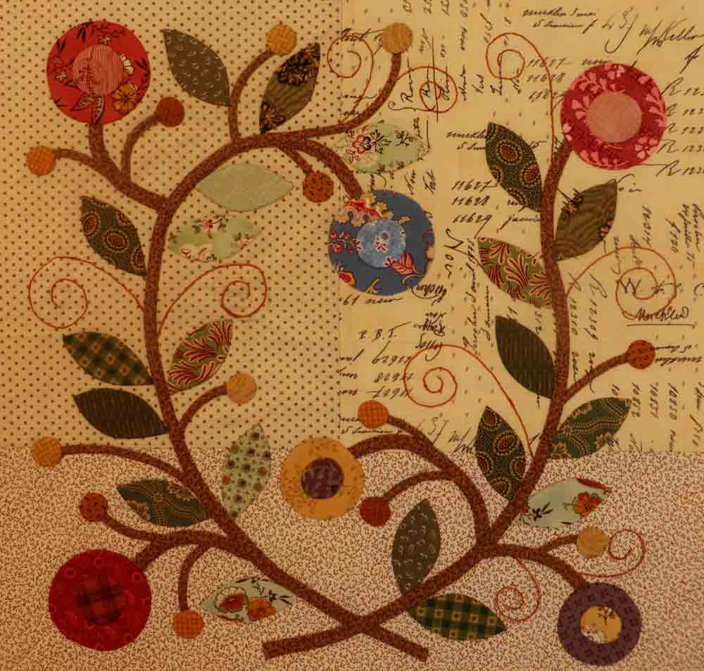 Lover's Wreath Block / Pine Valley Quilts