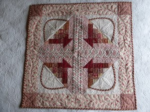 Four Block Basket Quilt / Pine Valley Quilts