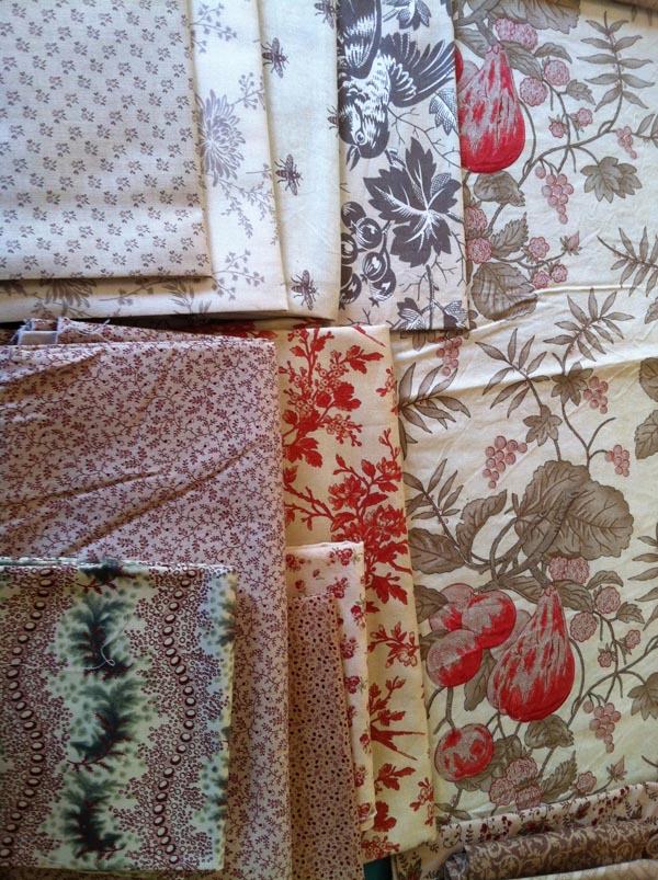 More fabrics chosen for Neutral Quilt
