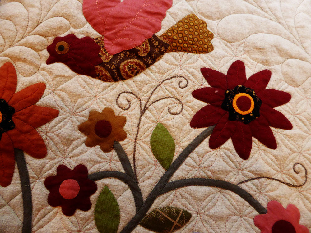 Pumpkin Seed Quilting Design / Pine Valley Quilts