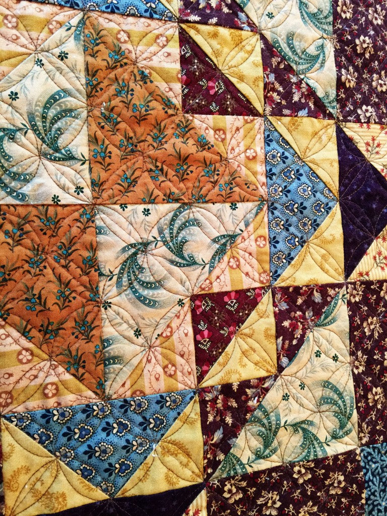 Purple Daisy Quilt / Pine Valley Quilts
