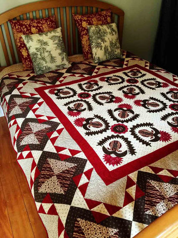Tavern Reds/Pine Valley Quilts