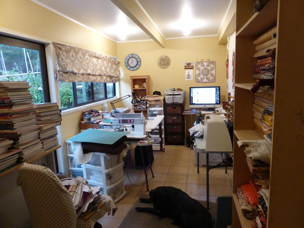 sewing room organization 2