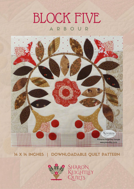 Winterwood Quilt Pattern BOM|Block Five - Pine Valley Quilts