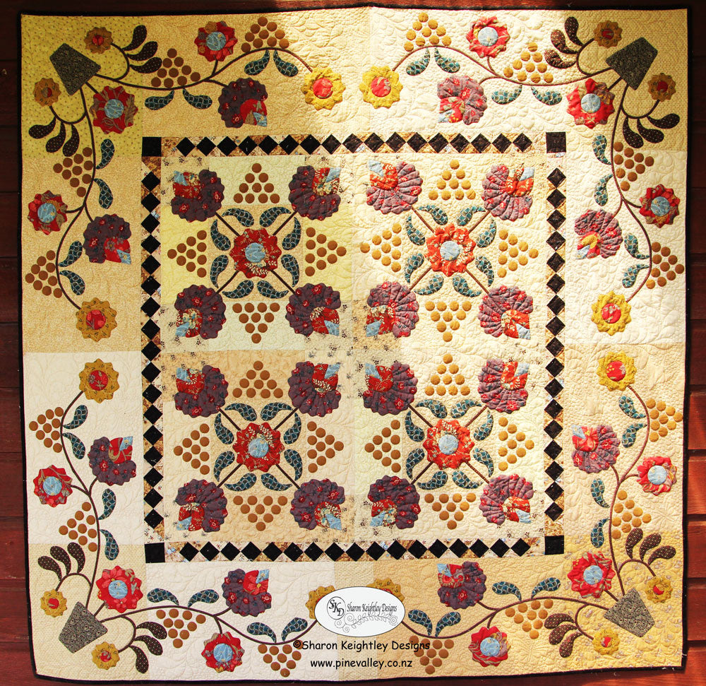Berries and Blossoms Quilt Pattern | Pine Valley Quilts
