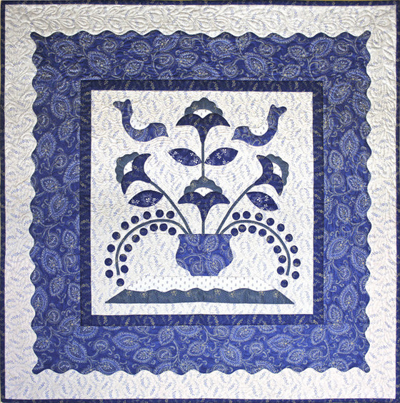 Birds in a Bluebird Tree Quilt Kit - Pine Valley Quilts