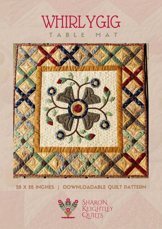 Whirlygig Quilt Pattern - Pine Valley Quilts