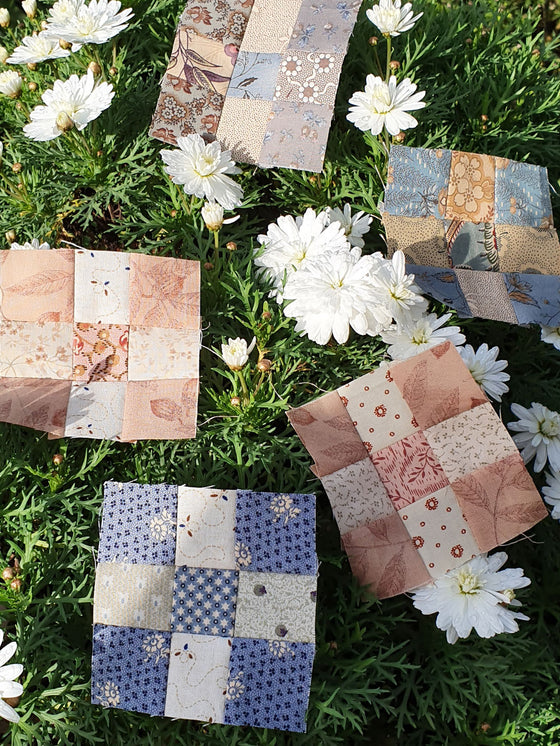 Nine Patch Block Sew Along Recipe - Pine Valley Quilts