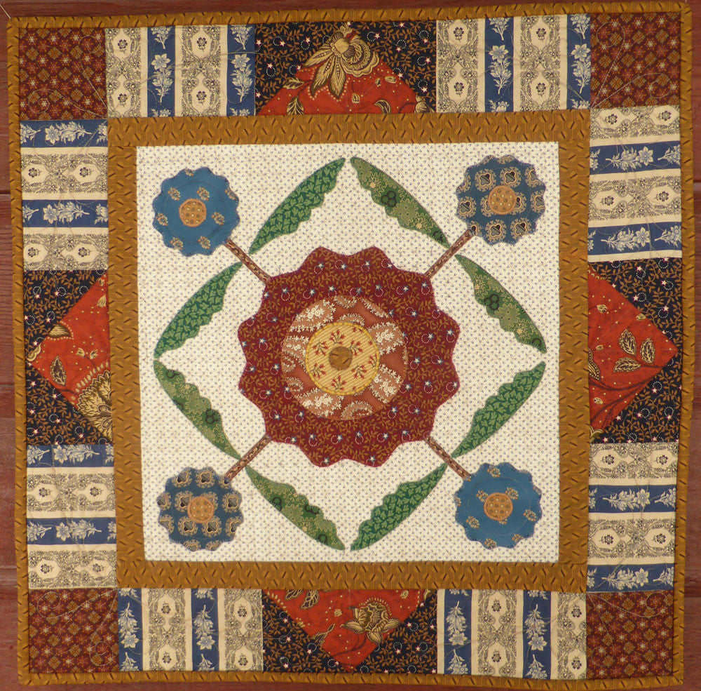 Flower Cross Quilt Pattern | Pine Valley Quilts