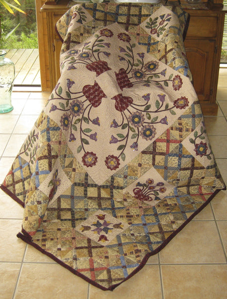 Vintage Crosses Quilt Pattern | Pine Valley Quilts