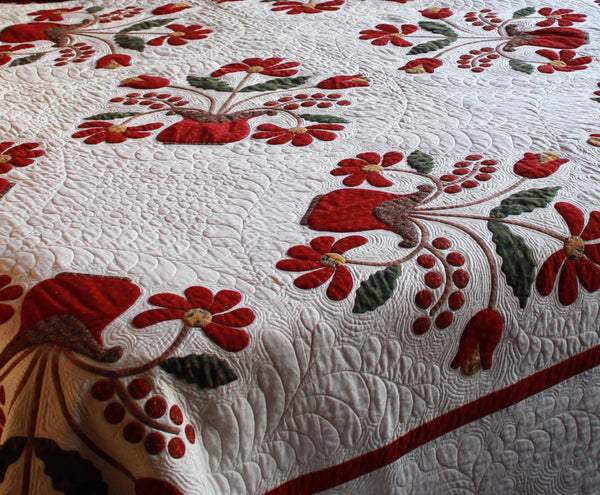 Luscious Baskets Quilt Pattern - Pine Valley Quilts