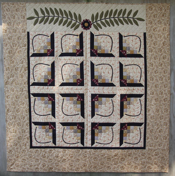 Maggie's Baskets Quilt Pattern - Pine Valley Quilts