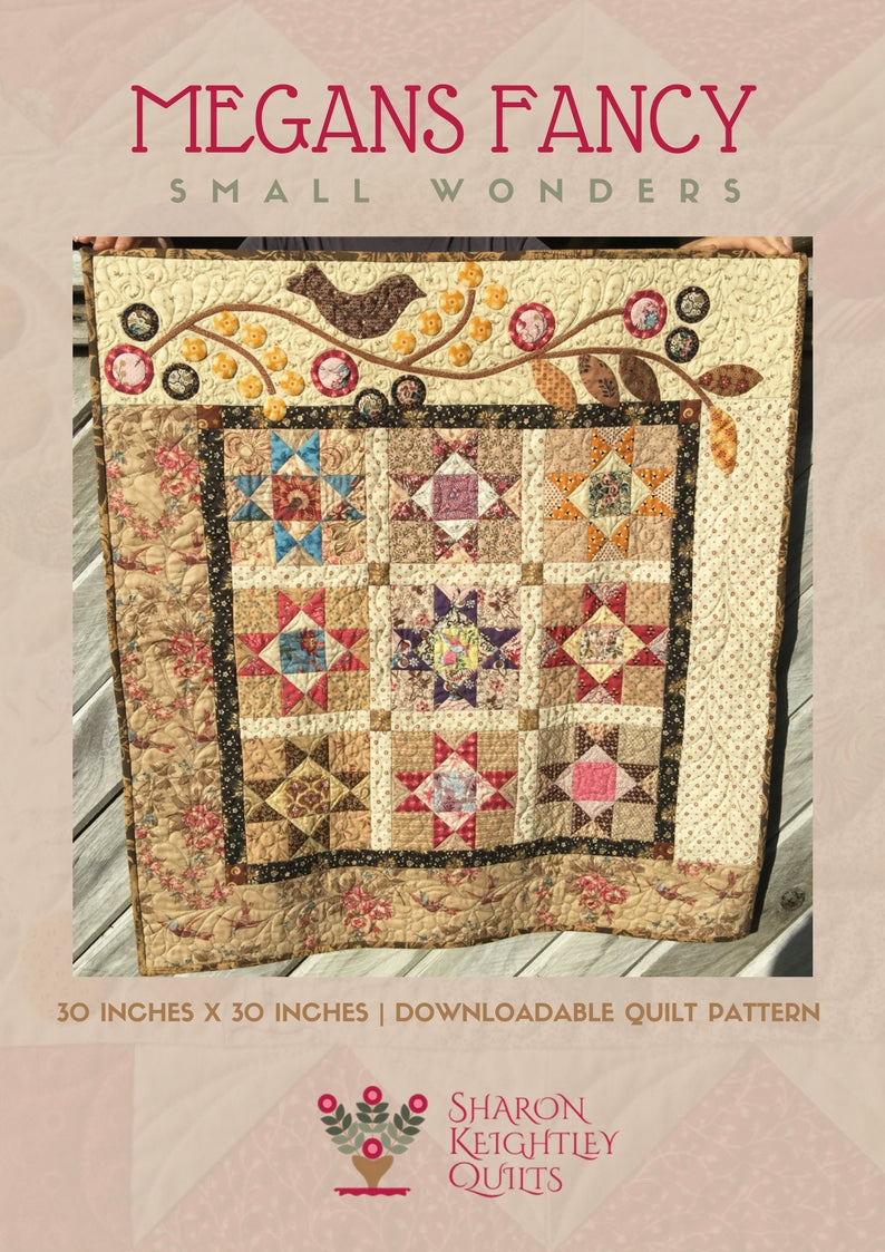 Megan's Fancy Quilt Pattern - Pine Valley Quilts