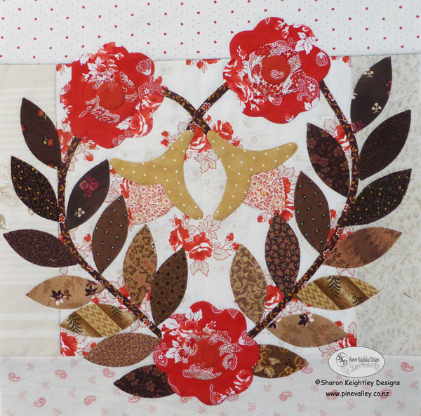 Winterwood Quilt Pattern BOM Block Two | Pine Valley Quilts