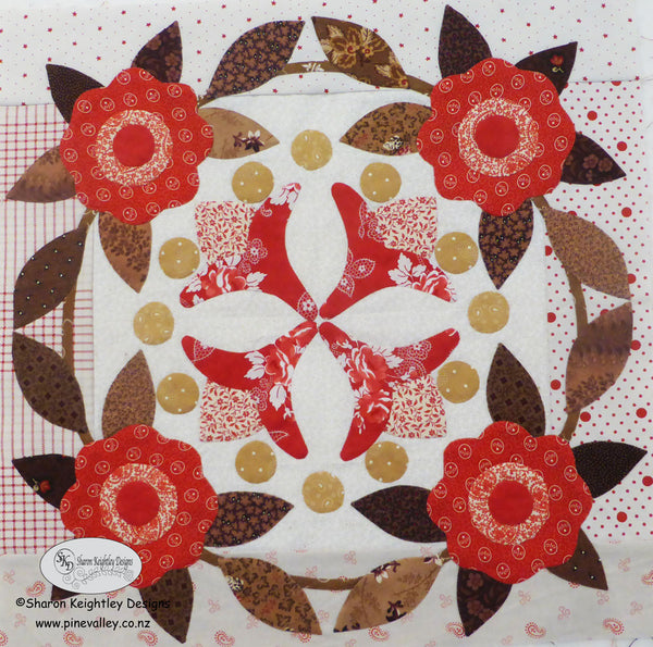 Winterwood Quilt Pattern BOM|Block Three