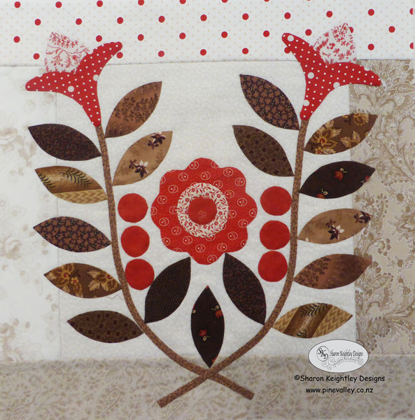 Winterwood Quilt BOM | Pine Valley Quilts