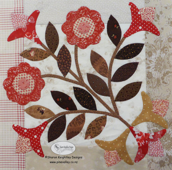 Winterwood Quilt Pattern BOM|Block Four
