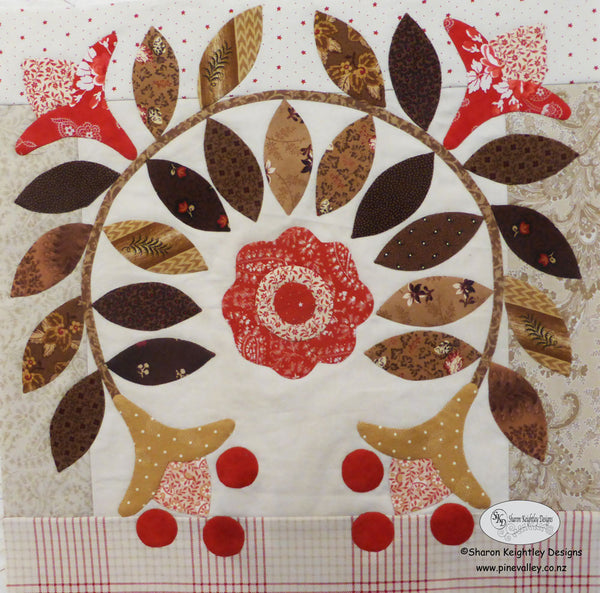 Winterwood Quilt Pattern BOM|Pine Valley Quilts