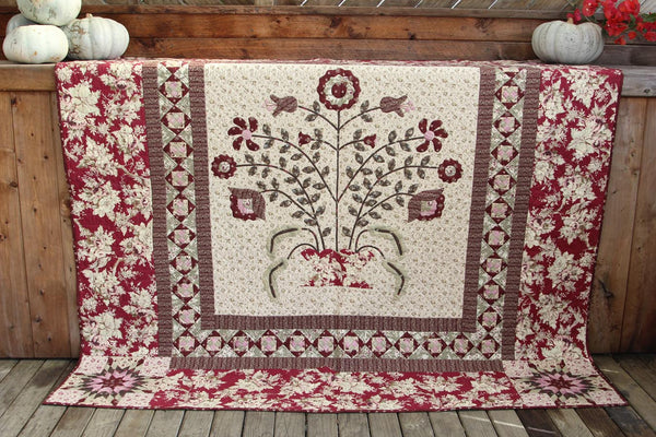 Penny Rose Quilt Pattern - Pine Valley Quilts