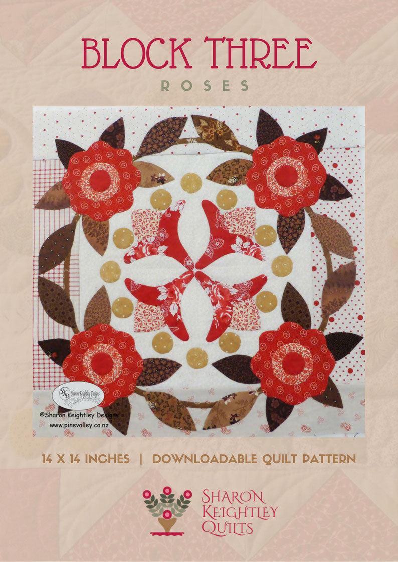 Winterwood Quilt Pattern BOM|Block Three - Pine Valley Quilts