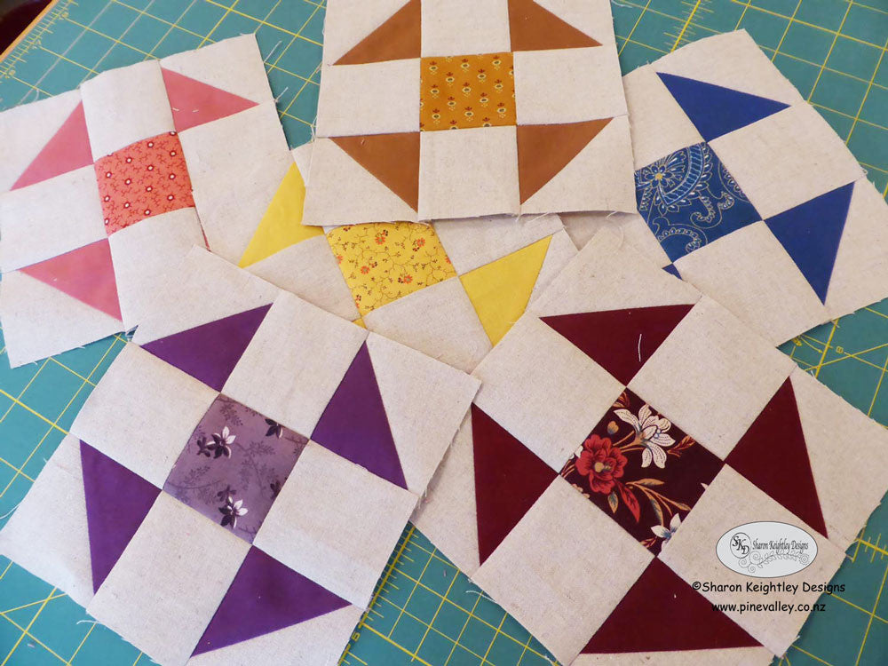 Whimsical Baskets Quilt Pattern Sharon Keightley Quilts