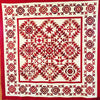 Simply Red Quilt BOM Block Eight