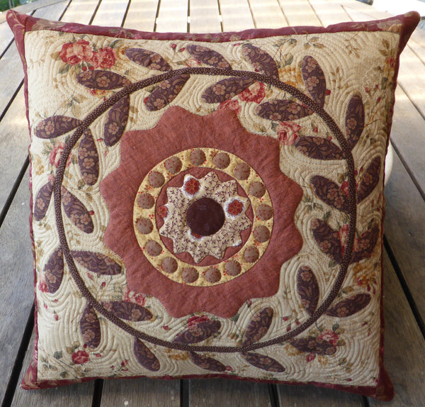 Wreath Cushion Pattern