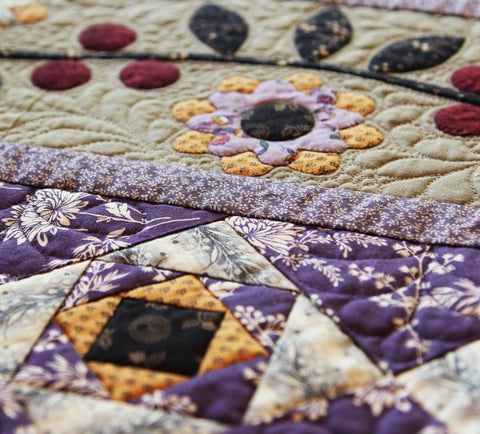 Blackberry Ramble Table Runner Quilt | Pine Valley Quilts