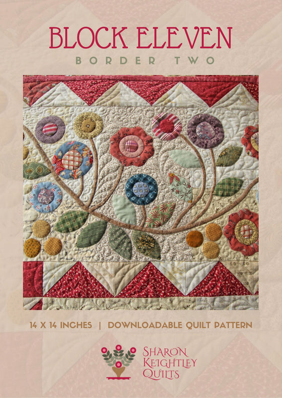 Rambling Ways Border Part Two - Pine Valley Quilts
