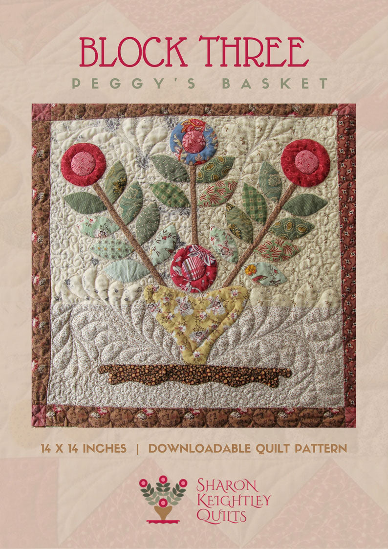 Peggys Basket - Pine Valley Quilts