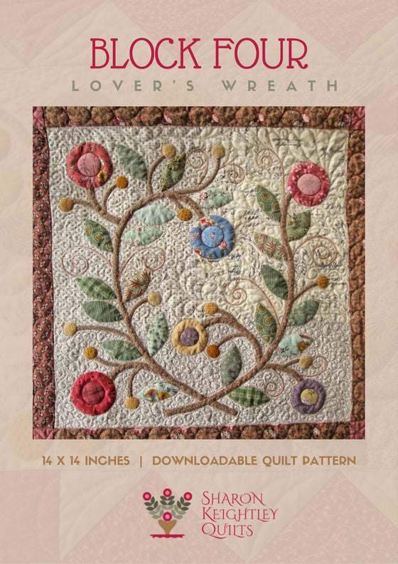 Lovers Wreath - Pine Valley Quilts