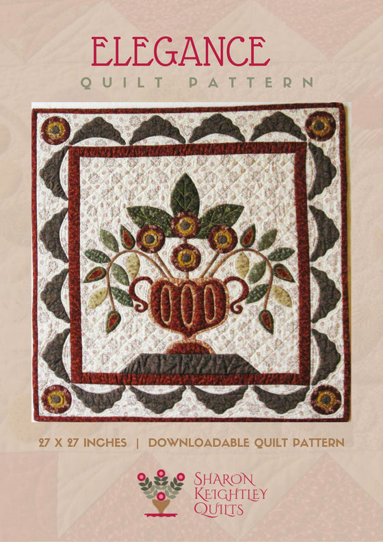Elegance Quilt Pattern - Pine Valley Quilts