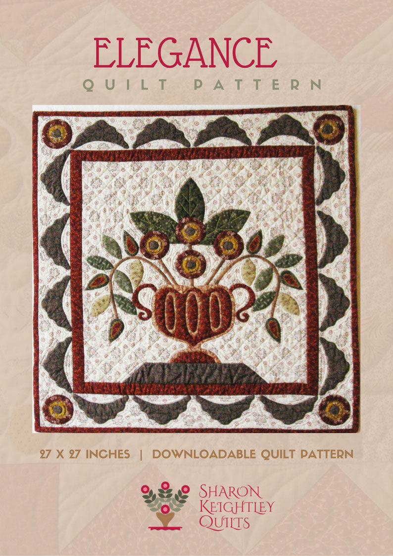 Elegance Quilt Pattern | Sharon Keightley Quilts