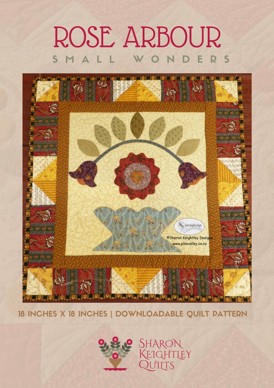 Rose Arbour Quilt Pattern - Pine Valley Quilts