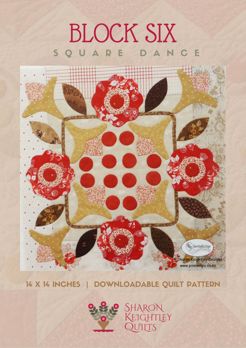 Winterwood Quilt Pattern BOM|Block Six - Pine Valley Quilts