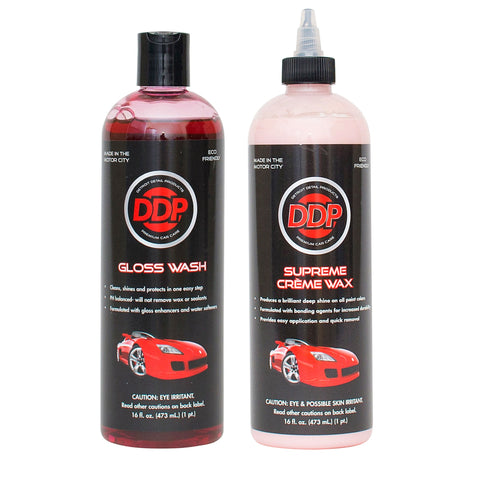 Wash & Wax Kit
