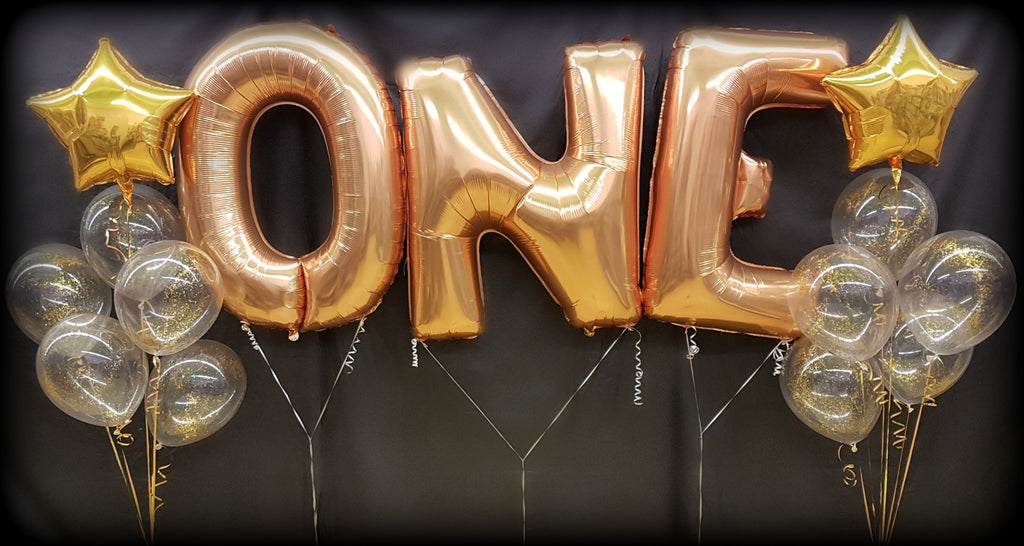 Jumbo Letters & Numbers Foil Balloon Bouquets