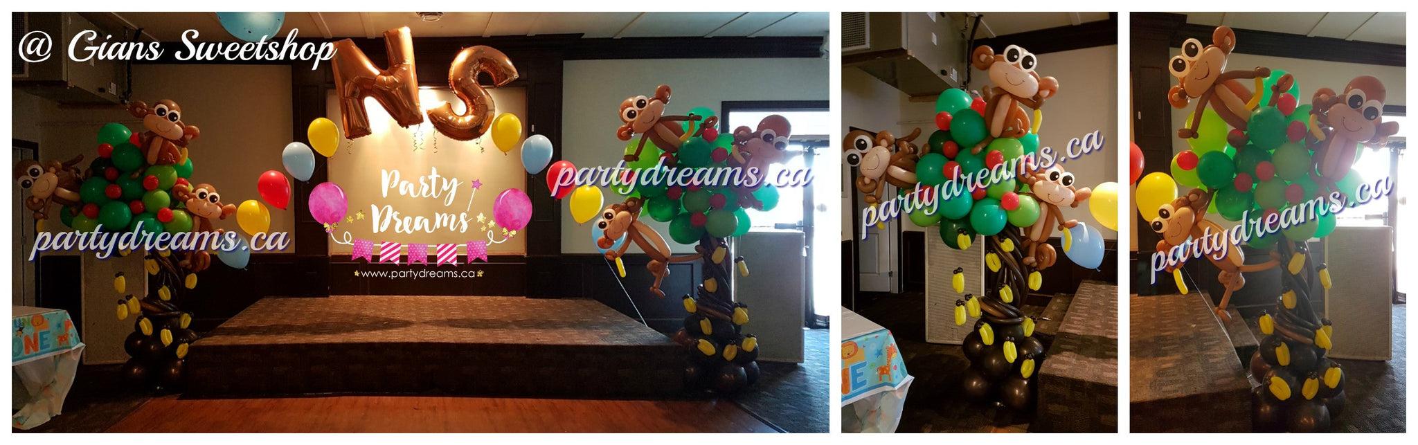 Jungle theme party balloon_Vancouver