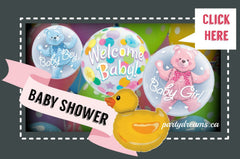 baby shower balloon south surrey Vancouver