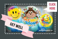 get well balloon bouquet surrey vancouver