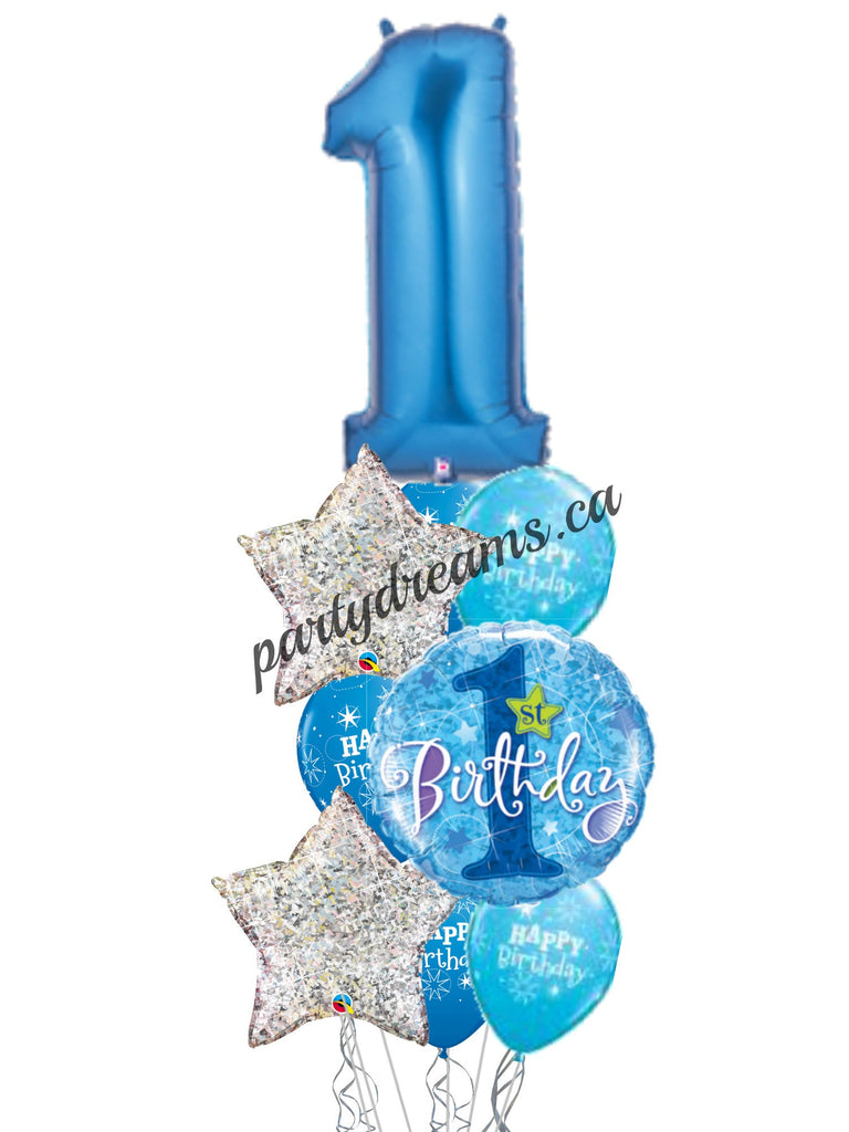 First Birthday Balloon Bouquet -2