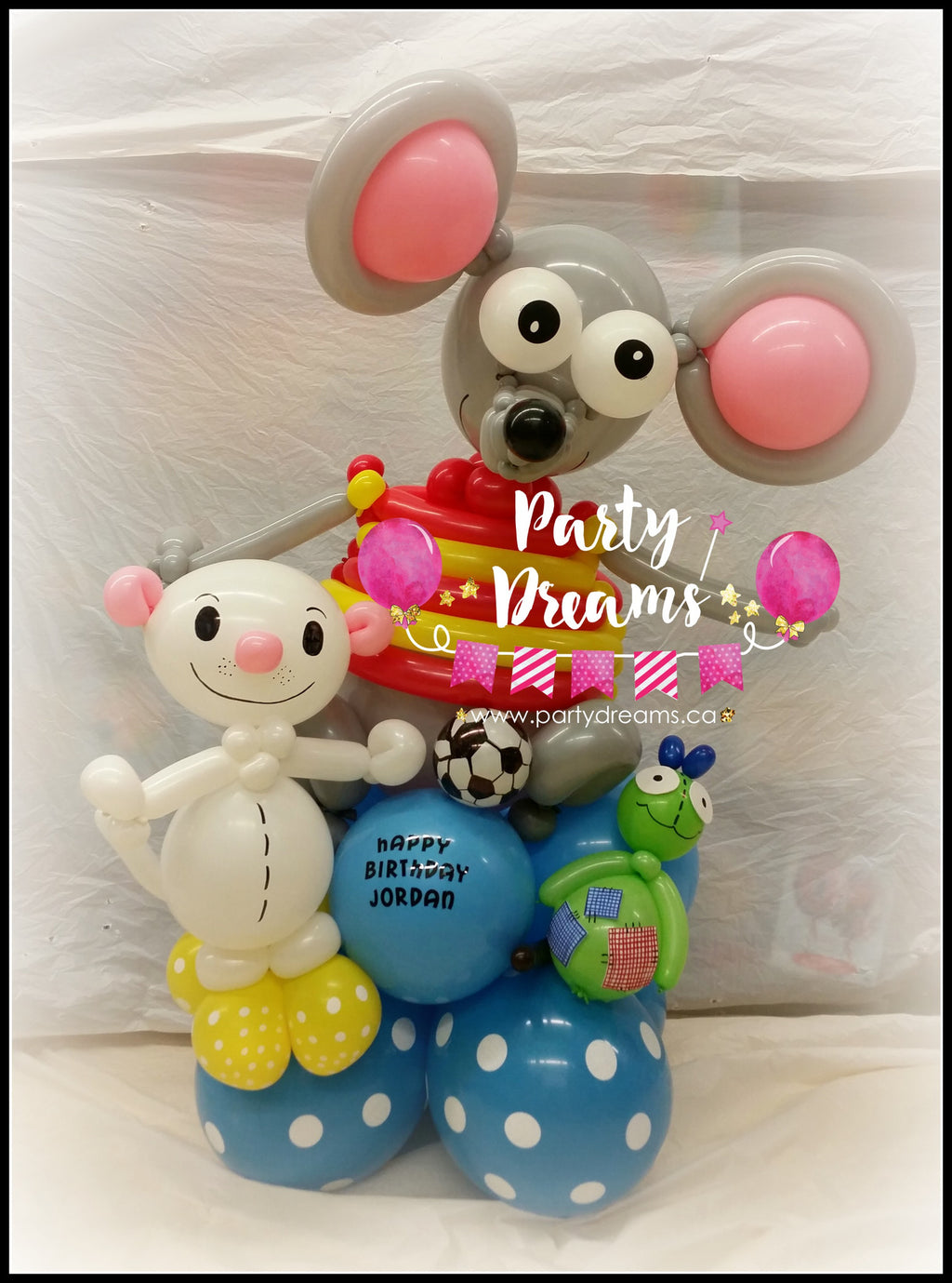 Character Balloon Sculpture (Medium) #SB162803