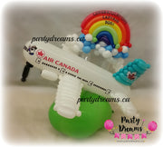 Balloon Plane with Rainbow (Small) #BV01