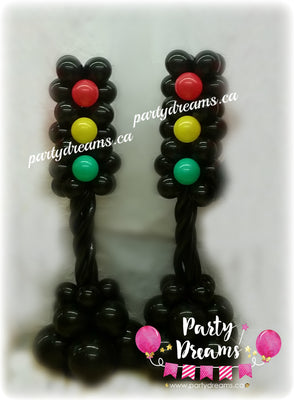 Balloon Traffic Light Set (Medium) #BV05