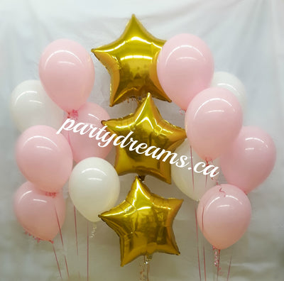 Foil Stars Balloon Bouquets Set #PFB01